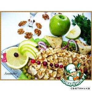 Рецепт Семга в медово-яблочном соку «Королева вкусноты»