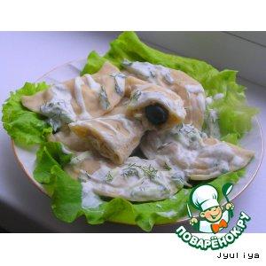 Рецепт Вареники с грибами и фасолью
