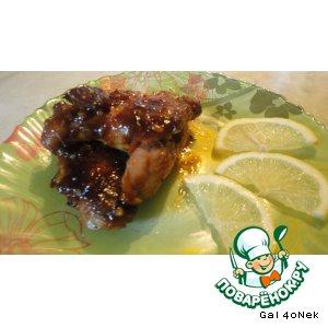 Рецепт Куриные крылья в медовой глазури и оригинальный принцип их приготовления