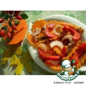 Рецепт Закусочный салат из тыквы