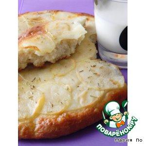 Рецепт Фокачча с картофелем