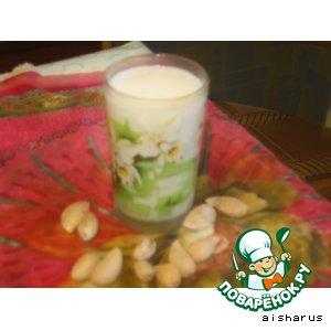 Рецепт Молоко с медом и миндалем