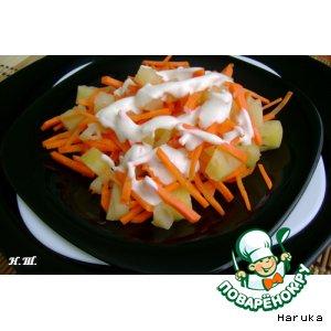 Рецепт Морковно-ананасовый салат
