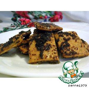 Рецепт Шулики медовые с маком