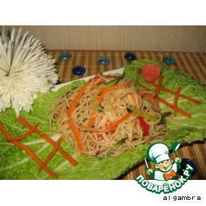 Рецепт Салат из фунчезы по-корейски