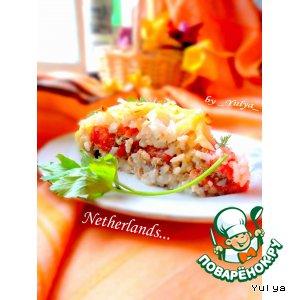 Рецепт Амстердамский воздушный пирог из риса