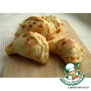 Рецепт Яблочные пирожки с сыром чеддер