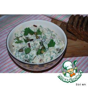 Рецепт Картофельный салат с каперсами