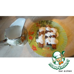 Рецепт Старинный русский соус к рыбе с пеленгасом