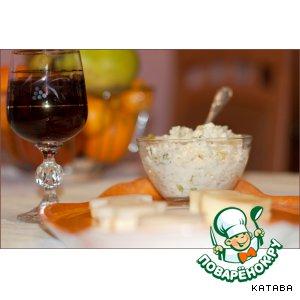 Рецепт Закуска под вино и шампанское