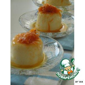 Рецепт Десерт из кус-куса с морковной сальсой