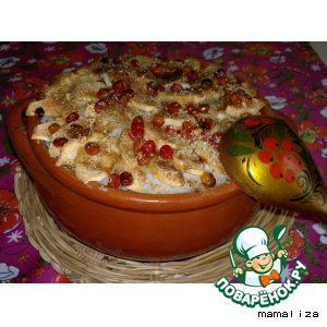 Рецепт Каша рисовая томленая