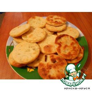 Рецепт Галеты картофельные с укропом