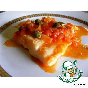 Рецепт Рыба в томатном соусе с каперсами