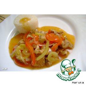 Рецепт Курица в лимонном соусе в стиле Каджун
