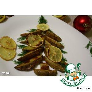 Рецепт Картофель, запеченный с лимоном