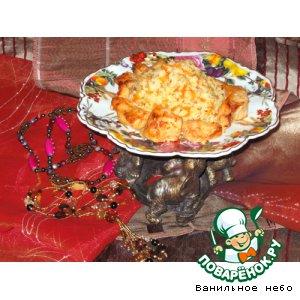 Рецепт Рис с куриной грудкой по-индийски