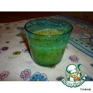 Рецепт Зеленый коктейль №2