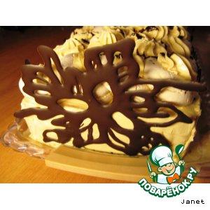 Съедобные украшения из шоколада