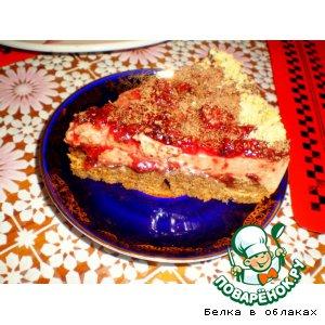 Рецепт Бисквитно-желейный торт