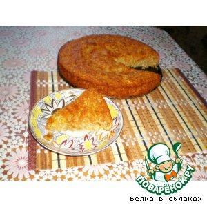 Рецепт Бананово-овсяный пирог