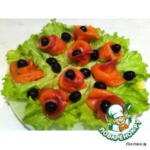Рецепт Рыбные розочки