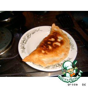 Рецепт Чебуреки с рубленным мясом и капустой