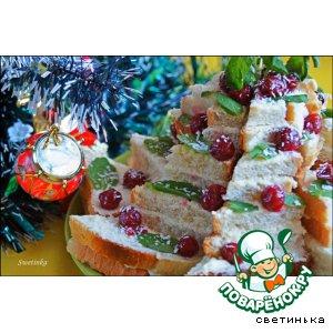 Рецепт Бутерброд сладкий «УРА! 1 января! Готовят детки, отдыхают предки!»
