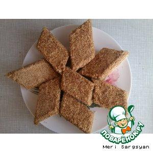 Рецепт Медовый торт с орехами