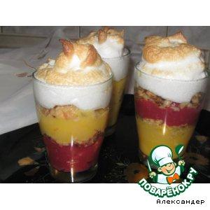 """Рецепт Кремовый десерт """"Хорошее настроение"""""""