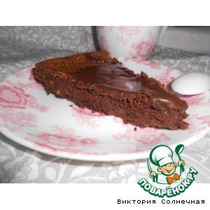 Рецепт Шоколадный пирог без муки