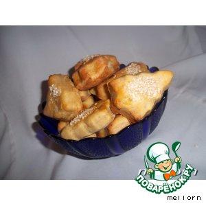 Рецепт Слоеное печенье из картофеля