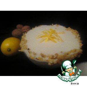 Рецепт Холодное лимонное суфле