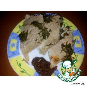 Рецепт Свинина в фольге с пряными травами