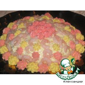 "Рецепт Салат-""торт"" ""Престиж"""