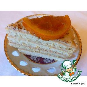 Рецепт Торт «Солнечный апельсин»