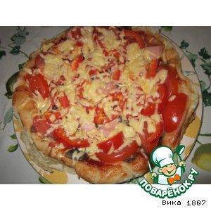 Рецепт Быстрое тесто для пиццы