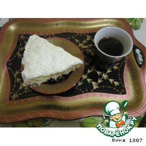 """Рецепт Кокосовый торт """"Белоснежный"""""""