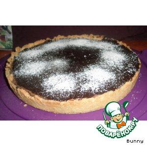 Рецепт Шоколадно-грушевый тарт