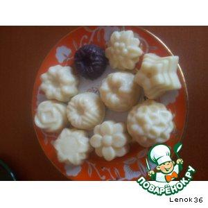 Рецепт Белый шоколад натуральный