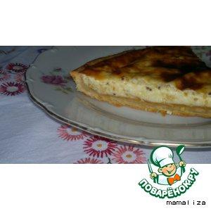Рецепт Горчично-сырный пирог