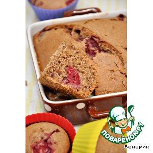 Рецепт Гречневые кексы с ягодами