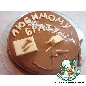"""Рецепт Тортик """"Любимому брату"""""""