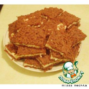 Рецепт Шоколадно-творожное печенье