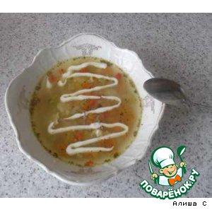 Рецепт Супчик овощной по-воронежски