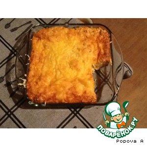 Рецепт Запеканка с куриным филе и капустой