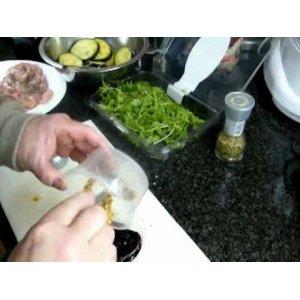 Рецепт Куриная грудка с горчично-смородиновым соусом