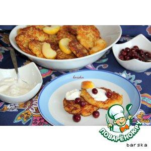 Рецепт Картофельно-яблочные драники