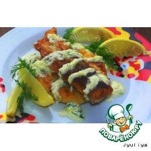 Рецепт Картофельно-рисовые лепешки с рыбой