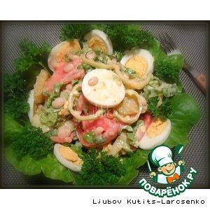 Рецепт Овощной венгерский салат «Каройи»